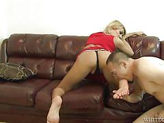 Sexy shemale wants her asshole licked @ she male reform school #09