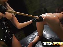Marina and kendra indulge in some lesbian fun