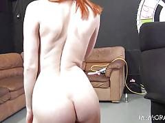 Red head getting her pussy licked