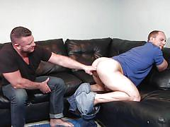 tattoo, handjob, masturbation, rim job, muscled, assfingering, big penis, gay, gay blow jobs, str8 to gay, men.com, john magnum, charlie harding