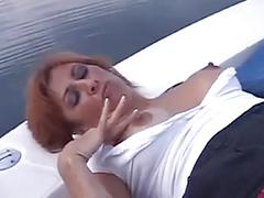 Mikela kennedy sex on a boat