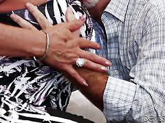 mature, blowjob, fingering, from behind, pussy eating, gray hair, devils film, fame digital, jay crew, leylani wood