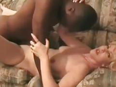 Hot blond wife fucks bbc & has cuckhub clean