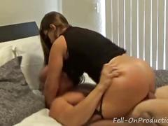 "Madisin lee in ""tipsy mommy confusion"" mom fucks son by accident"