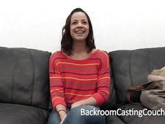 Fun health nut kate's anal audition