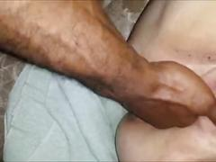 Soaking wet bbw squirting interracial