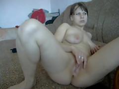 Webcam, solo, masturbation, striptease real female orgasm