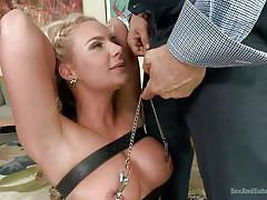 Hot blonde milf phoenix getting mouth fucked