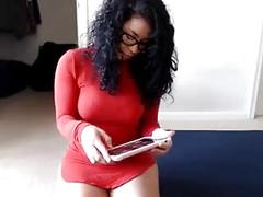 Hot webcam ass tease