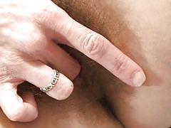 milf, hairy, solo, brunette, pussy fingering, self fucking, anilos, amanda xxx