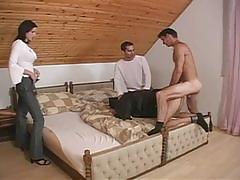Bisexual hardcore foursome fucking