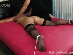 girl, milf, white, bdsm, tied, bound, lee, rope, punishment, tickling, tickle, pawg, laugh, laughing, madisin
