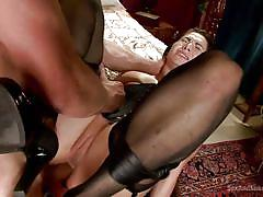 bondage, bdsm, busty milf, mouth fuck, anal sex, ball sucking, spread legs, fingering pussy, cum in mouth, sex and submission, kink, bill bailey, lea lexis