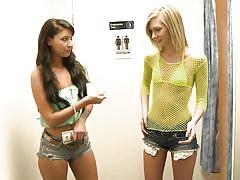 Blonde bitch gets challenged @ season 2, ep. 1 2