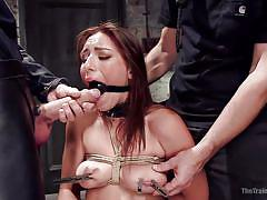Rilynn rae gives in to horny executor