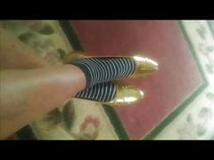 Mature foot shoe fetish 15