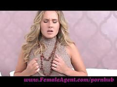 Femaleagent. hot 18yr old receives her first ever orgasm