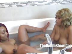 Thick lesbian redbones strapon golden and thickred