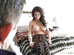 Hot milf has her pussy eaten