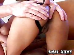 Ebony cutie lyla lei plays with her anus and cock