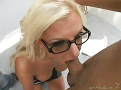 Whitney fears does not fear two cocks down throat