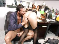 Secretary fucked by her boss