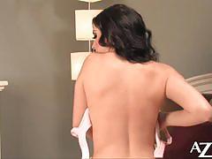 jelena jensen, brunette, big tits, busty, babe, pornstar, solo, posing, naked, gorgeous, huge tits, beauty, teasing, striptease