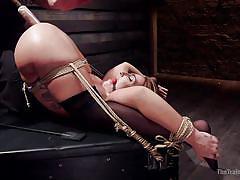 Naughty savannah gets orgasmic pleasures
