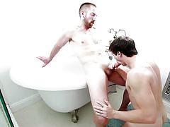 Gay couple gets really horny