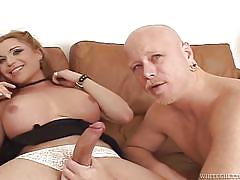threesome, pov blowjob, anal sex, shemale big boobs, transsexual, tranny babe, transsexual roadtrip, fame digital, tom moore, rod barry