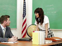 Sexy babe perverts her teacher @ corrupt schoolgirls #10