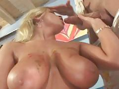 Busty momma drilled hard in the cunt