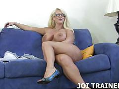 Blow your load all over my pussy joi