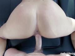 Tan and fit latina first timer gets fucked and loves it
