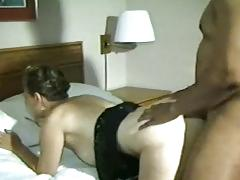 My wife is creampied by bbc