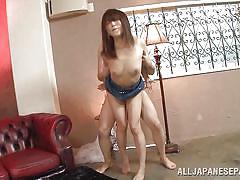 japanese, bukkake, cumshot, hairy pussy, from behind, censored, cock riding, big balls, asian babe, bukkake now, all japanese pass, saki ninomiya
