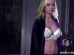 tattoo, blonde, deepthroat, seduce, hand job, pierced, busty babe, point of view, real wife stories, brazzers network, madison scott, johnny sins
