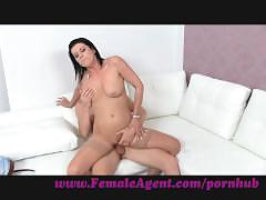 amateur, brunette, milf, reality, femaleagent, stocking, cock-sucking, oral, casting, mature, audition, sexy, hardcore, blowjob, cumshot, orgasms