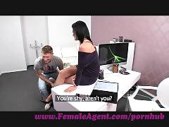 Femaleagent. double cumshot surprise for milf