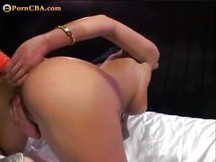 Black haired angel gets fucked