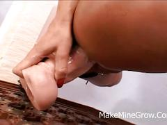 Bonny bon - hot milf nailed by a big cock on her ass
