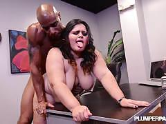 Checkout karla tits bouncing while ridin fat cock.