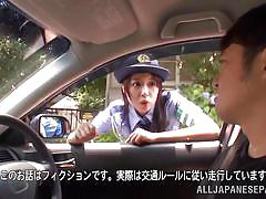 babe, japanese, cosplay, police, car sex, pick up, j cos play, all japanese pass, ran usagi