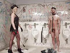 Slutty madeline marlowe punishes a guy