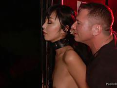 Asian slut gets humiliated