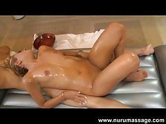 Natalia robles and nuru massage