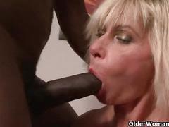 anal, cumshot, facial, interracial, milf, mature, mom, granny, mommy, mother, lilli, cougar, grandma, gilf, black-cock, anal-sex