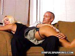 Amateur barbie gets spanked by her lover