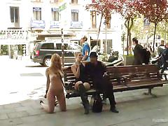 Blonde babe gets humiliated