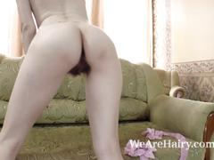 Sandy may is all natural and orgasms after playing